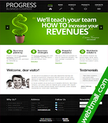 HTML植物网页制作作业成品