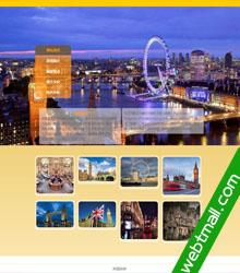 英国旅游静态网页设计作业成品