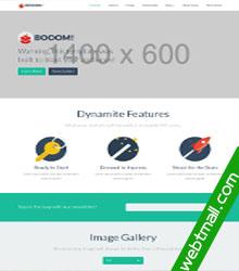 bootstrap简洁互联网公司网页设计作业成品模板