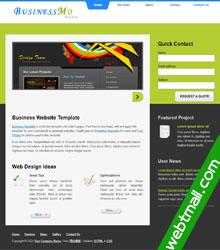 营业状况网页设计作业成品