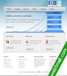 多媒体网站网页设计作业成品