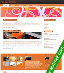 粉色油画网页制作作业成品