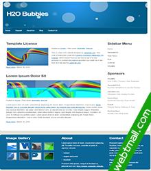 泡泡网页设计作业成品