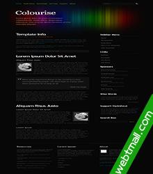 简洁大气免费网页设计作业成品