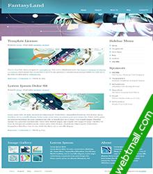 彩色画免费网页设计作业成品