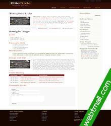 环境保护免费网页设计作业成品