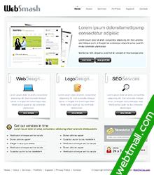 白色免费网页设计作业成品