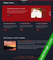 黑色背景网页作业模板免费下载