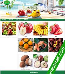 水果商店asp.net动态网页设计作业作品