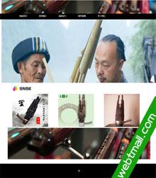 传统乐器古笙网页设计作业成品